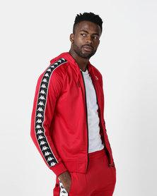 Kappa 222 Banda Zudai SF Jacket Red
