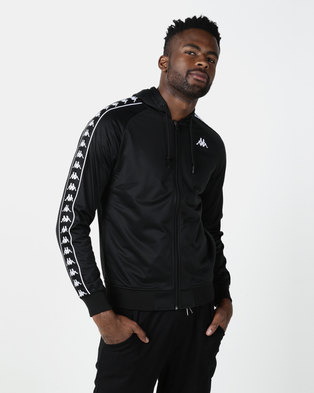 Kappa 222 Banda Zudai SF Jacket Black