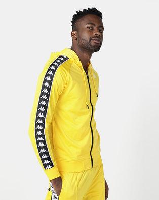 Kappa 222 Banda Zudai SF Jacket Yellow