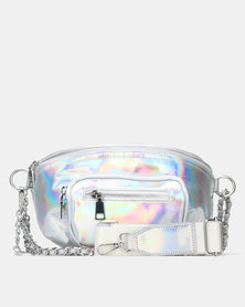 Steve Madden BTIA Belt Bag Silver