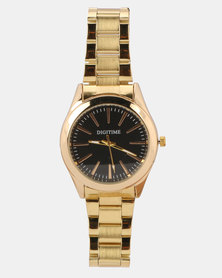 Digitime Gullion Watch Gold