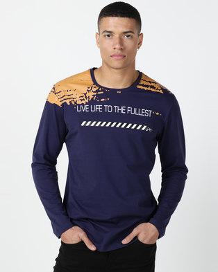 KG Chevy Long Sleeve T-shirt Navy