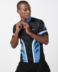 Merrell Eden Cycling Jersey Black/Blue