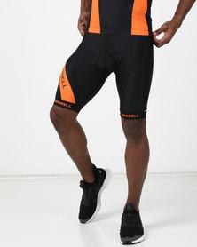 Merrell Eden Cycling Shorts Black/Orange