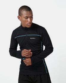 Merrell Convergent Half Zip Sweatshirt Black