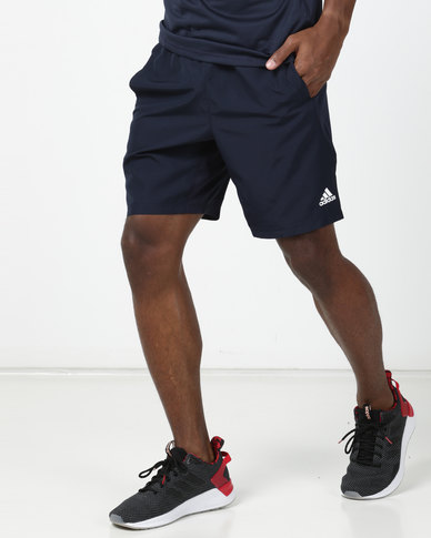 adidas Performance 4KRFT Sport Ultimate Knit 9 Inch Shorts Navy
