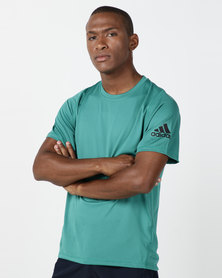 adidas Performance Freelift Sport Ultimate Solid Tee Green