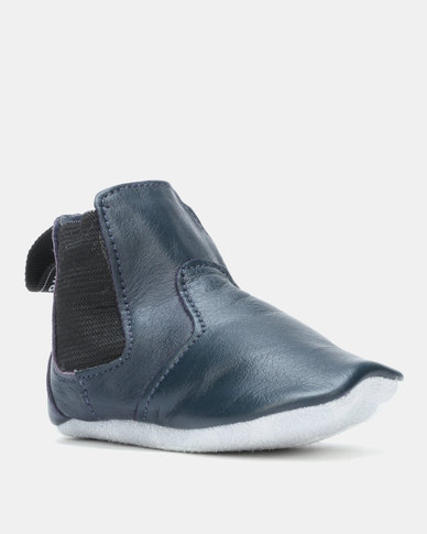 Shooshoos Ryder Jim Winter Booties Dark Blue