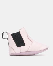 Shooshoos Ballet Dancer Winter Booties Pink