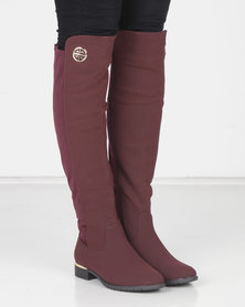 Miss Black HADAR 3 Boot Burgundy