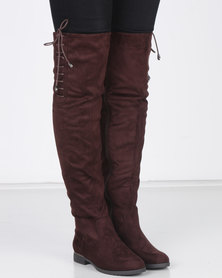 Miss Black DOROTA OTK Boot Chocolate
