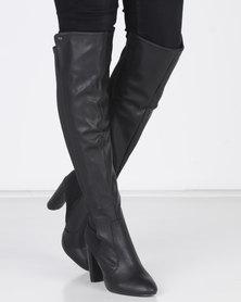 Miss Black ILANA OTK Block Boot Black