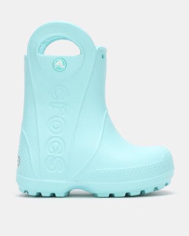 5546850cb Crocs Handle It Rain Boot Kids IBlue