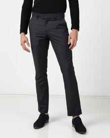 ICE MEN Men's Trousers Charcoal