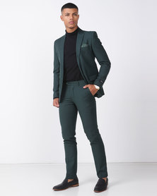 JOHN BLACK 2 Button Suit Green