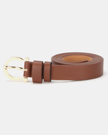 Lily & Rose Saddle Belt Brown