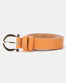 Lily & Rose Saddle Belt Tan