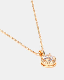 IDesire Classic Pendant Necklace Gold