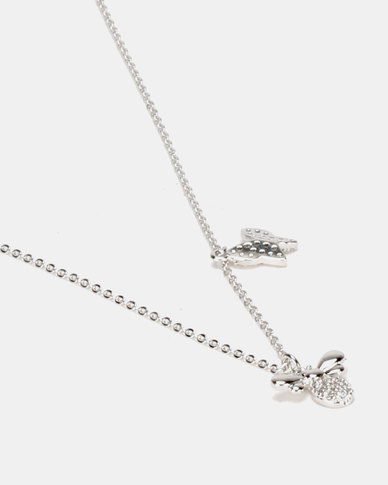 IDesire Bumble Pendant Necklace Silver