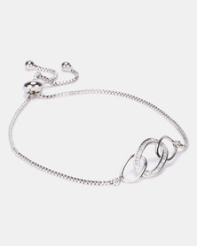IDesire Link Bracelet Silver