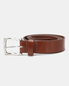New Look Leather Belt Tan