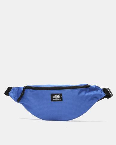 New Look Ripstop Bum Bag Bright Blue
