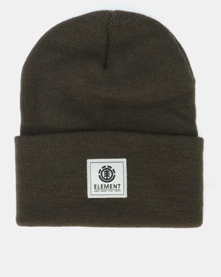 Element Dusk Beanie Green