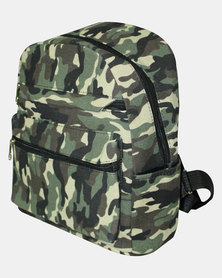 Razberry Kids Camo Print Backpack