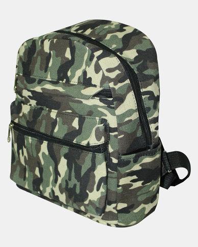 6577d8c9 Razberry Kids Camo Print Backpack