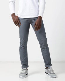 New Noble Slim Fit Trousers Grey