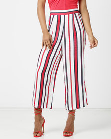 Sissy Boy Get Lost Stripe Culotte Multi