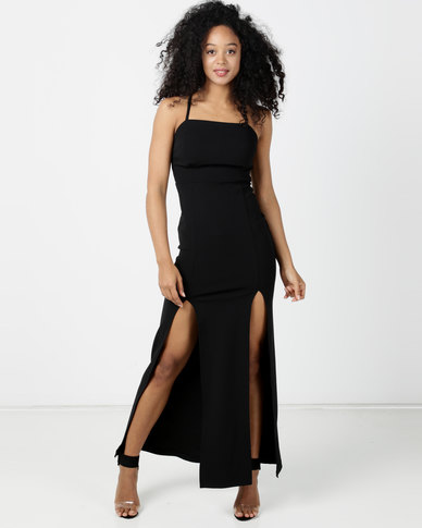 Sissy Boy Free Yourself Dress Black Maxi