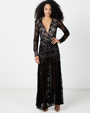 f76b63846 Sissy Boy Organic Lace Maxi Dress Black
