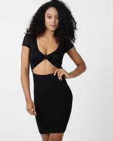 Sissy Boy Stay Sassy Club Dress Black