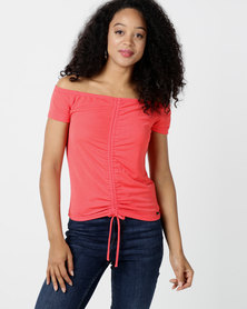 Sissy Boy Extra Spice Fitted Tee Tangerine
