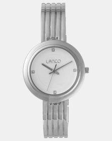 Lanco Ladies Watch Matte Dial IPS Band Silver-tone