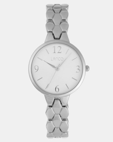 Lanco Ladies Watch Case and Bracelet Silver-tone