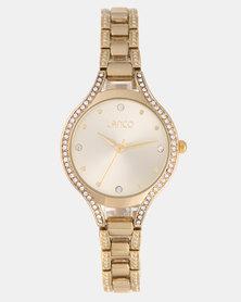 Lanco Ladies Watch Alloy Case and Bracelet Gold-tone