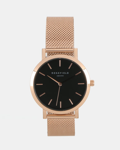 Rosefield The Mercer Watch Rose Gold