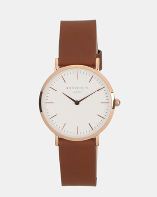 Rosefield The Tribeca Watch Brown