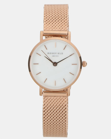 Rosefield Small Edit 26mm Watch Rosegold Giftset