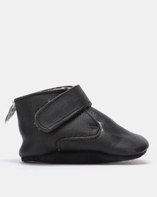 Shooshoos Wowza Trouser Fleece Winter Bootie Black