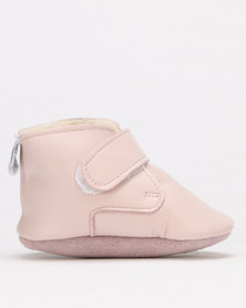 Shooshoos Fargo Fleece Winter Bootie Pink