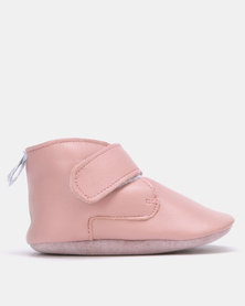 Shooshoos Newport Fleece Winter Bootie Pink
