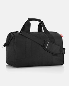 Reisenthel water-repellent premium-quality polyester allrounder L black travel bag