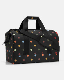Reisenthel water-repellent premium-quality polyester allrounder L dots travel bag