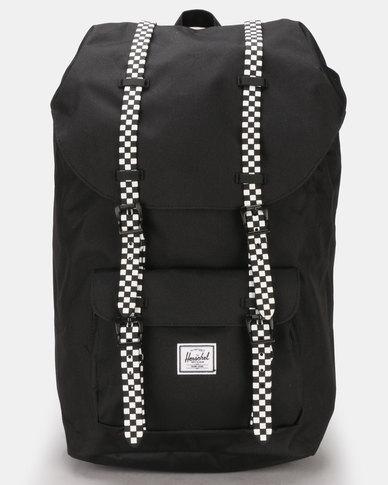Herschel Little America Bakcpack Black/Checkerboard