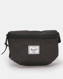 Herschel Fourteen Hip Pack Black Crosshatch