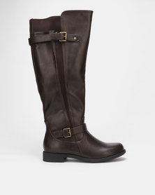 Madison Andy Long Boot Brown