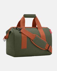 Reisenthel water-repellent premium-quality polyester allrounder L urban forest travel bag